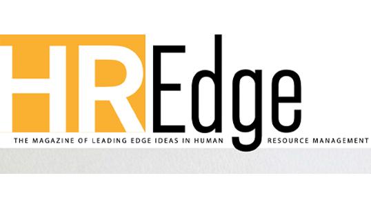 Logo for HR Edge Magazine