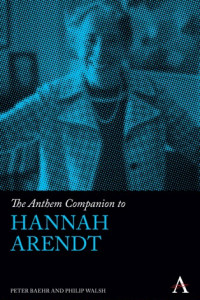 The Anthem Companion to Hannah Arendt book cover