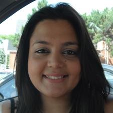 Sociology alumna Jennifer Haque