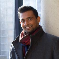 criminology alumnus Sayjon Ariyarathnam
