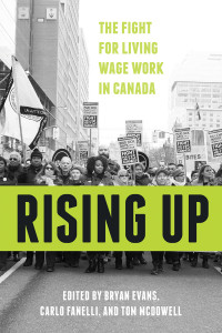 Rising Up: The Fight for Living Wage Work in Canada book cover