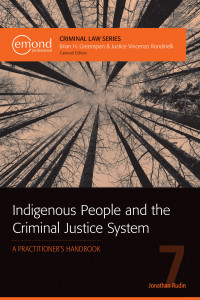 Book Cover: Indigenous People and the Criminal Justice System - A Practitioners Handbook