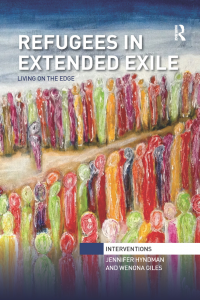Book Cover: Refugees in Extended Exile - Living on the Edge