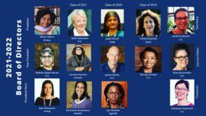2021-22 Board of Directors profile photos