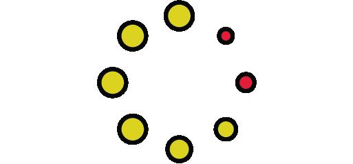 illustration of loading circle