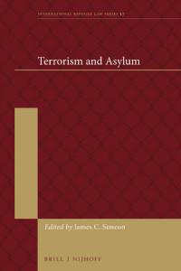 terrorism and asylum book cover