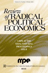 review of radical political economics book cover