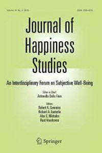 journal of happiness studies book cover