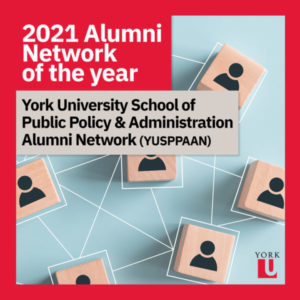 Alumni network of the year poster