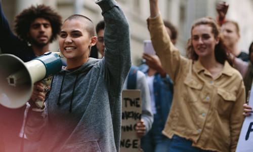 feminist protest