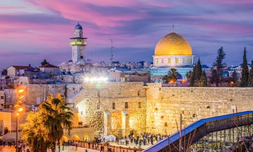 the west wall in jerusalem