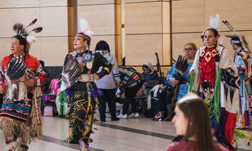 indigenous performers at yorku vari hall