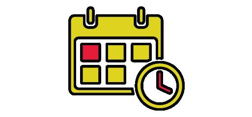 calendar infographic