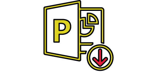 image of the Microsoft PowerPoint logo