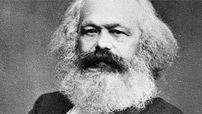 Old photo of Karl Marx