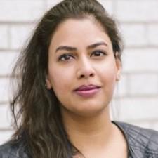 writing program alumna Sannam Ahmad