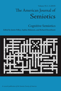American Journal of Semiotics August 2019 cover