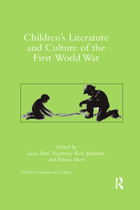 Children's Literature and Culture of the First World War book cover
