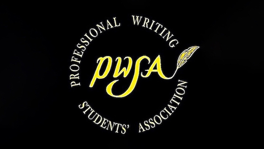 Professional Writing Students' Association logo
