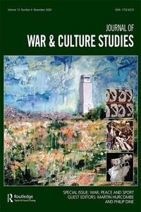 Journal of War & Culture Studies cover