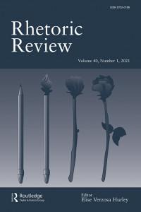 Rhetoric Review journal cover