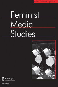 Feminist Media Studies, special issue on Online Misogyny cover