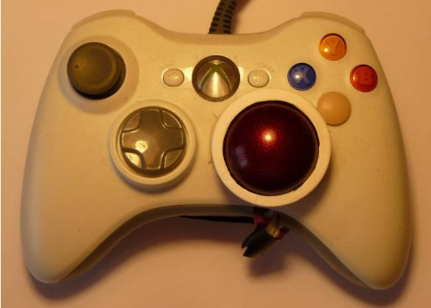 The Trackball Controller: Improving the Analog Stick