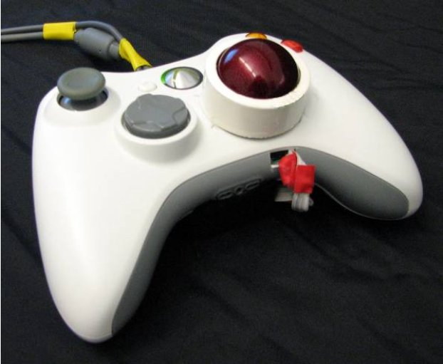 Gameplay Evaluation of the Trackball Controller