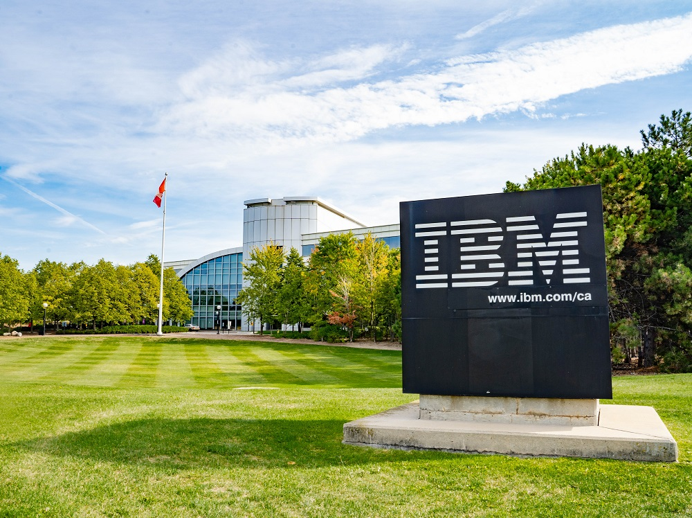IBM building in markham