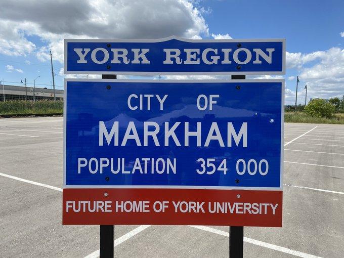 markham sign
