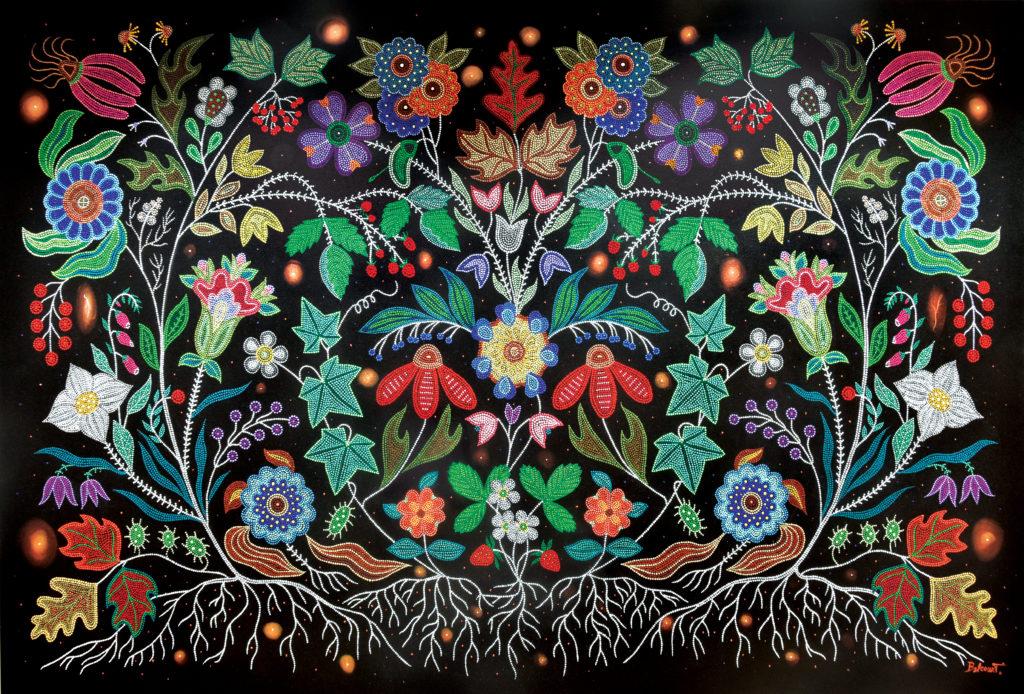 Métis (Otipemisiwak) artist Christi Belcourt