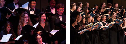 York's Chamber Choir, led by Canton