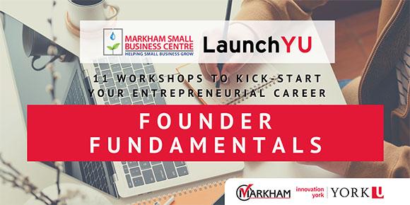 Founder fundamentals promo poster
