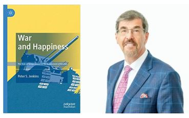 Peter S. Jenkins and his new book, War and Happiness.