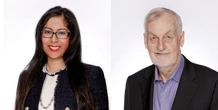 Sherena Hussain and James McKellar