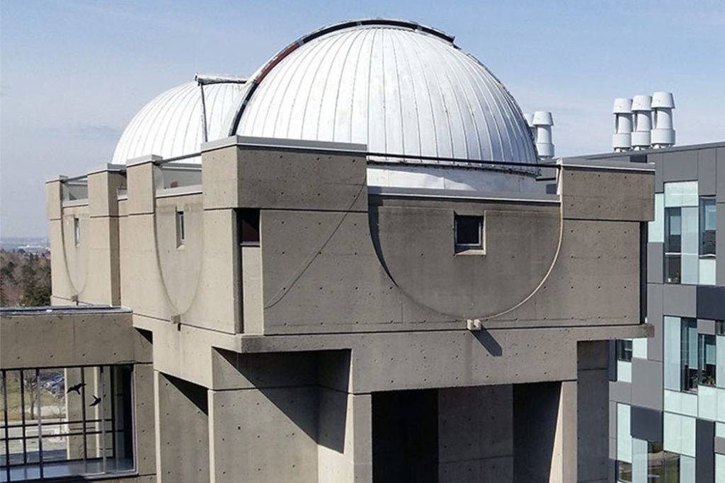 Allan I. Carswell Observatory.