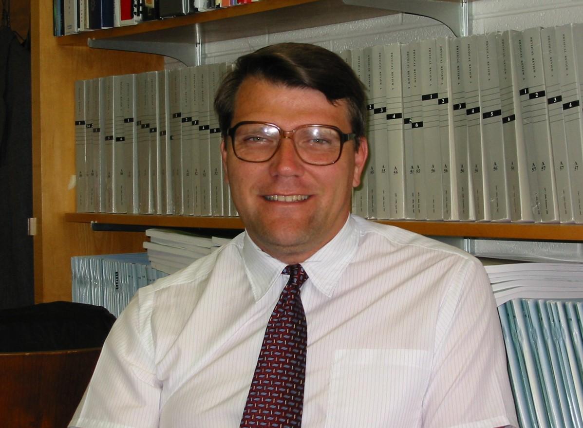 Professor William van Wijngaarden