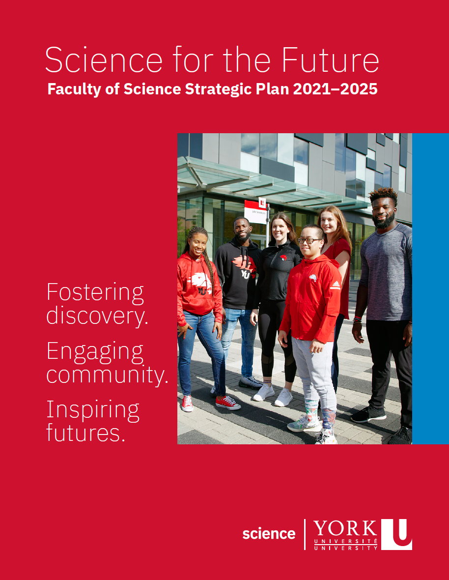 Faculty of Science Strategic Plan 2021-2025 cover.