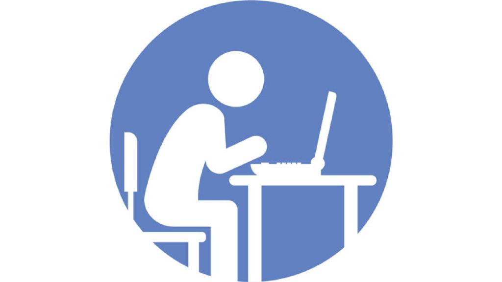 Attending Class Online button