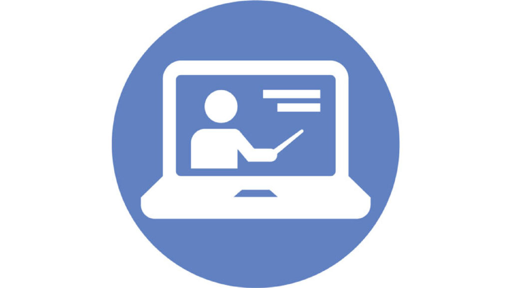 Giving Online Presentations button