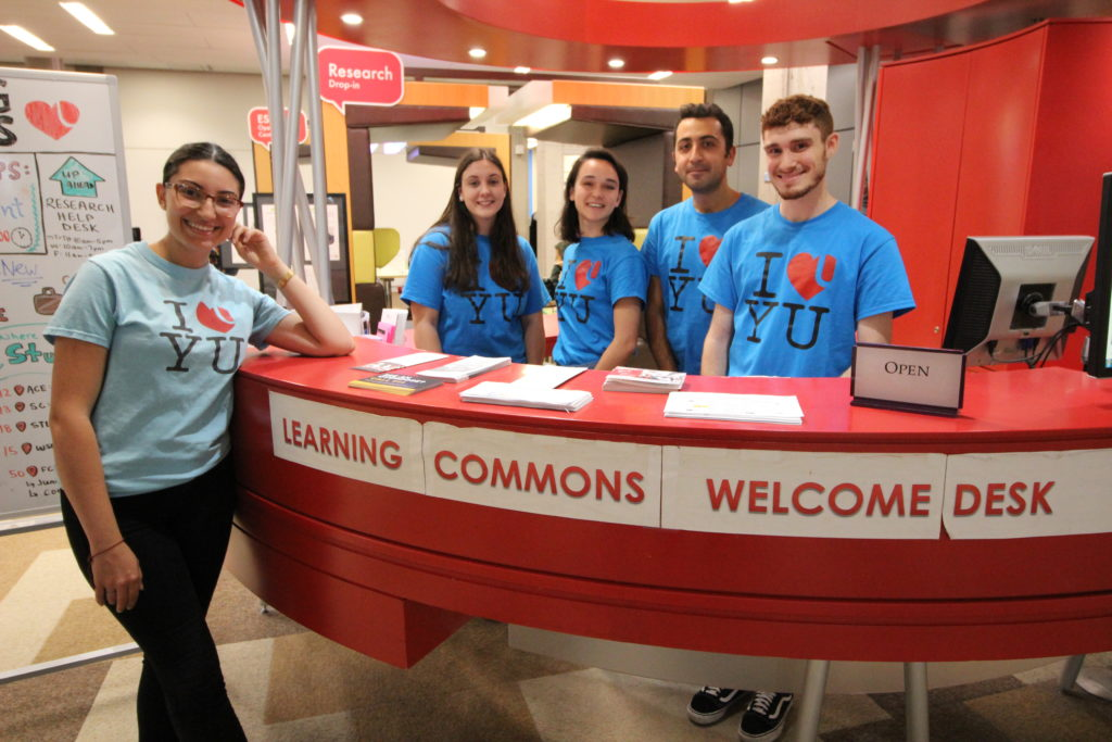 The Learning Skills Services Team in the Learning Commons