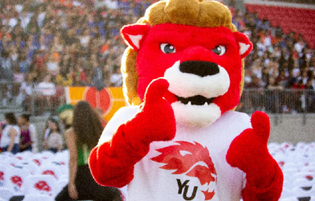 Orientation 2020 - York Lions Mascot