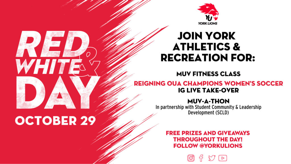 Red & White Day - October 29