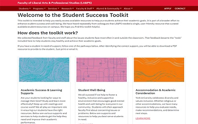 New online resource will aid faculty in helping students succeed