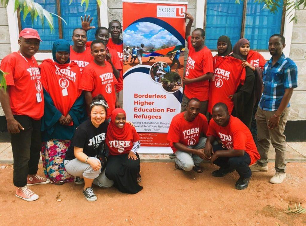 BEHR refugee education program participants.