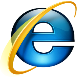 Icon of Internet Explorer linked to download page for the application