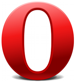 Icon of Opera linked to download page for the application