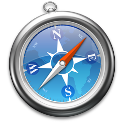 Icon of Apple Safari linked to download page for the application