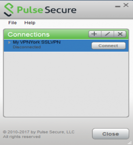 Screenshot of Session Disconnected