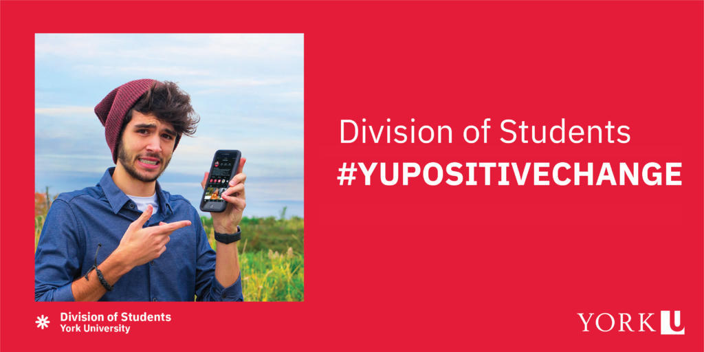 division of students #YUPositiveChange